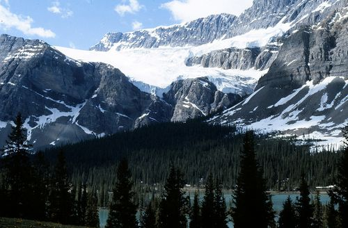 Crowfoot Glacier_Columbia Icefields_Banff