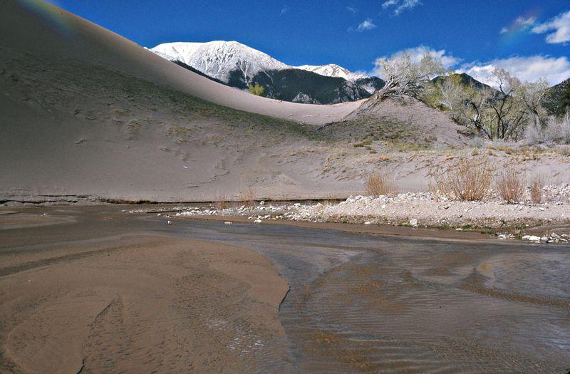 Medano Creek flows after rain_GSDNP_COED