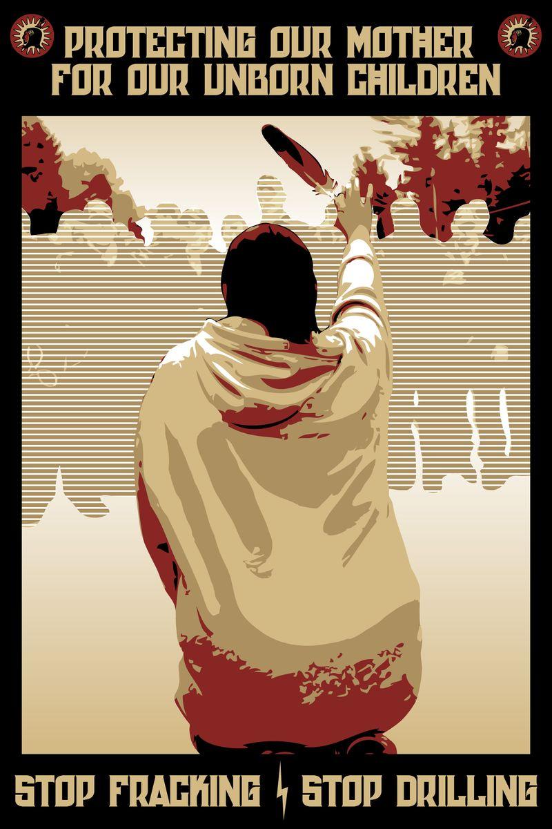 Elsipogtogsolidarity poster