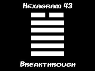 Hexagram43
